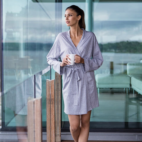 Personalised Womens Wrap Robe