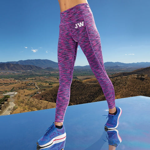 Personalised Ladies Performance Leggings