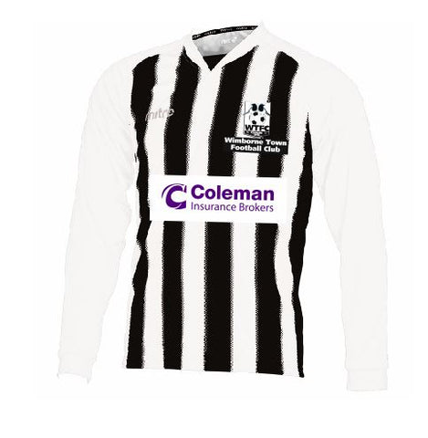 Wimborne Town Football Club <br> Adult Replica Home Shirt