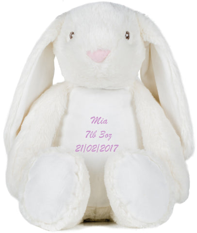 Personalised Zippy Bella Bunny