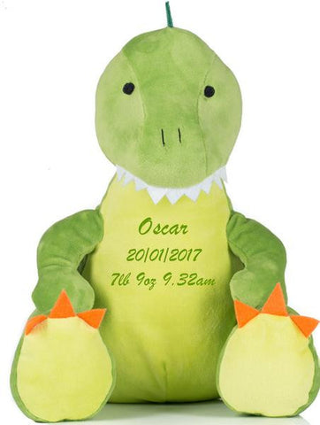 Personalised Zippy Dougie Dinosaur