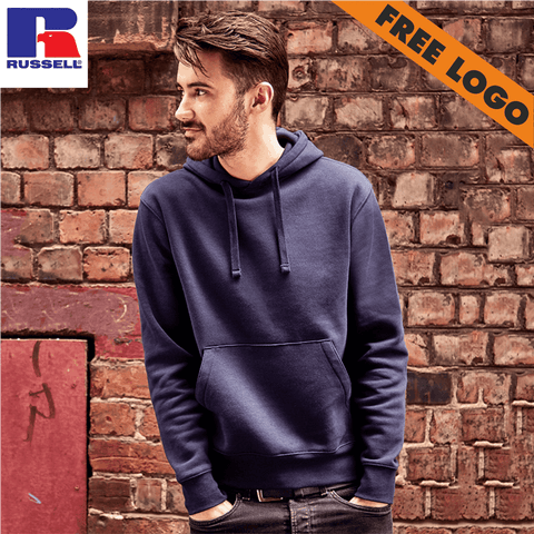 6 x Russell Hoodies - 6 For £99 - Includes Free Logo!