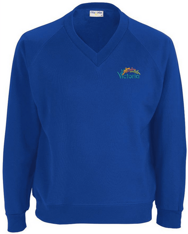 Victoria Education Centre V Neck Sweatshirt