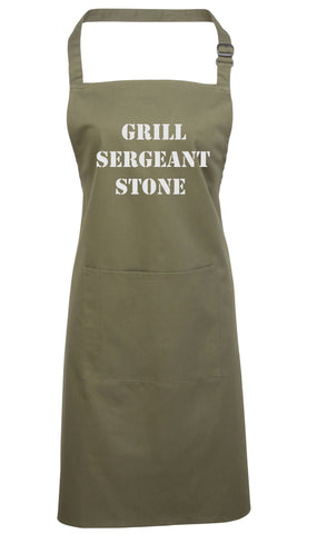 Grill Sergeant .........    Apron