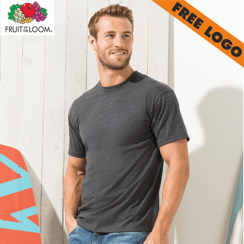 24 x Fruit of Loom T-Shirts For £99 - Includes Free Logo!