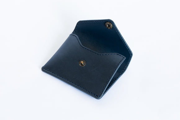 The Signature Wallet | Blue Leather Wallet | Albert Tusk Leather Goods Online