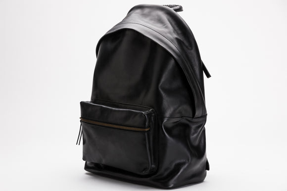 The Founders Backpack | Black Leather Backpack | Albert Tusk Leather Goods Online