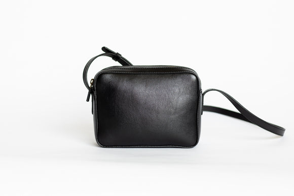 The Classic Sling | Black Classic Sling | Albert Tusk Leather Goods Online