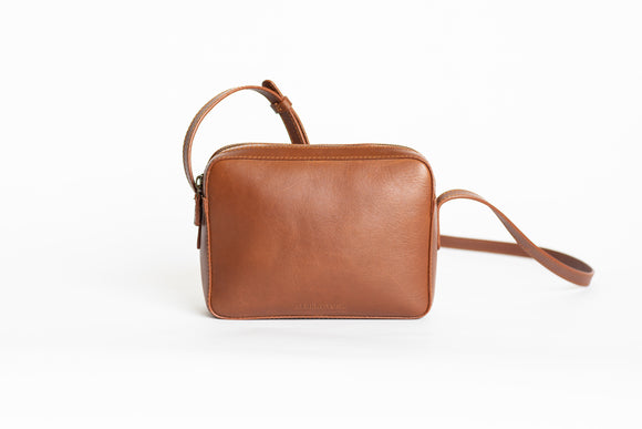 The Classic Sling | Tan Classic Sling | Albert Tusk Leather Goods Online