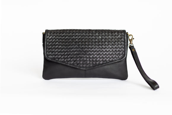 The Everyday Sling | Black Everyday Sling | Albert Tusk Leather Goods Online