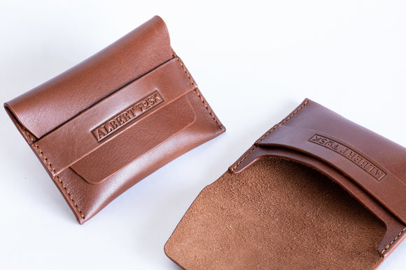 The Flip-Top Envelope | Flap Wallet | Albert Tusk Leather Goods Online