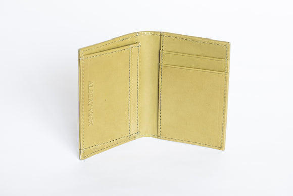 The Business Cardholder | Green Leather Cardholder | Albert Tusk Leather Goods Online