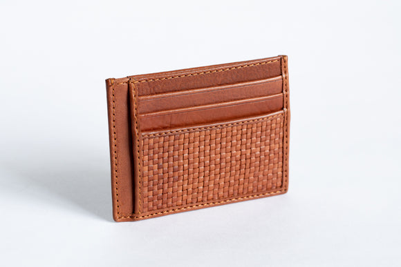 The Minimalist Wallet | Tan Slim Leather Wallet | Albert Tusk Leather Goods Online