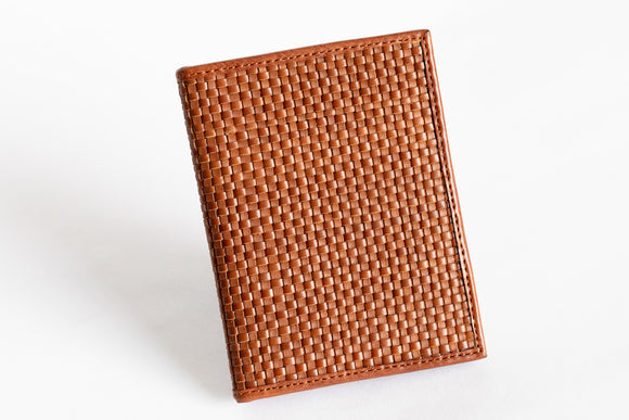 The Passport Holder | Tan Leather Passport Holder | Albert Tusk Leather Goods Online