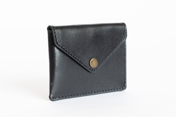 The Signature Wallet | Black Leather Wallet | Albert Tusk Leather Goods Online