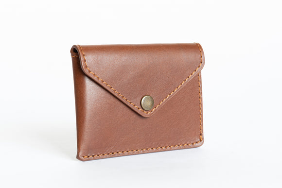 The Signature Wallet | Brown Leather Wallet | Albert Tusk Leather Goods Online