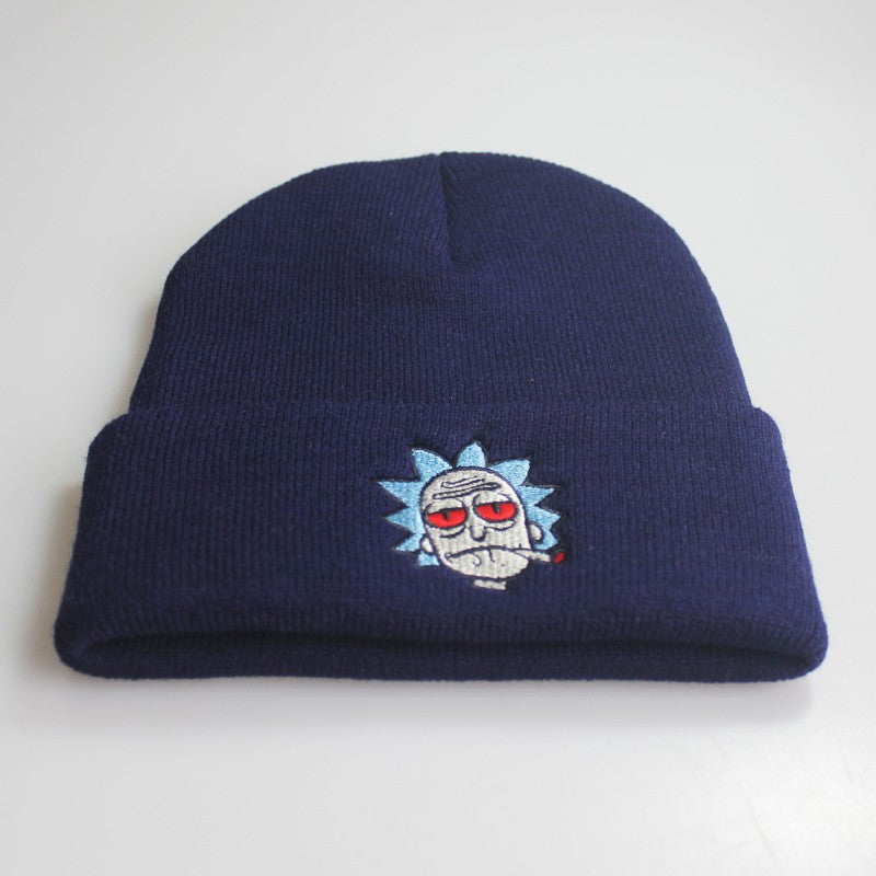 ... Rick And Morty Stoned Beanies - Capital Clothing ... 30b3956be9bf