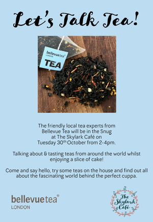 Let's Talk Tea at Skylark Cafe, Wandsworth Common