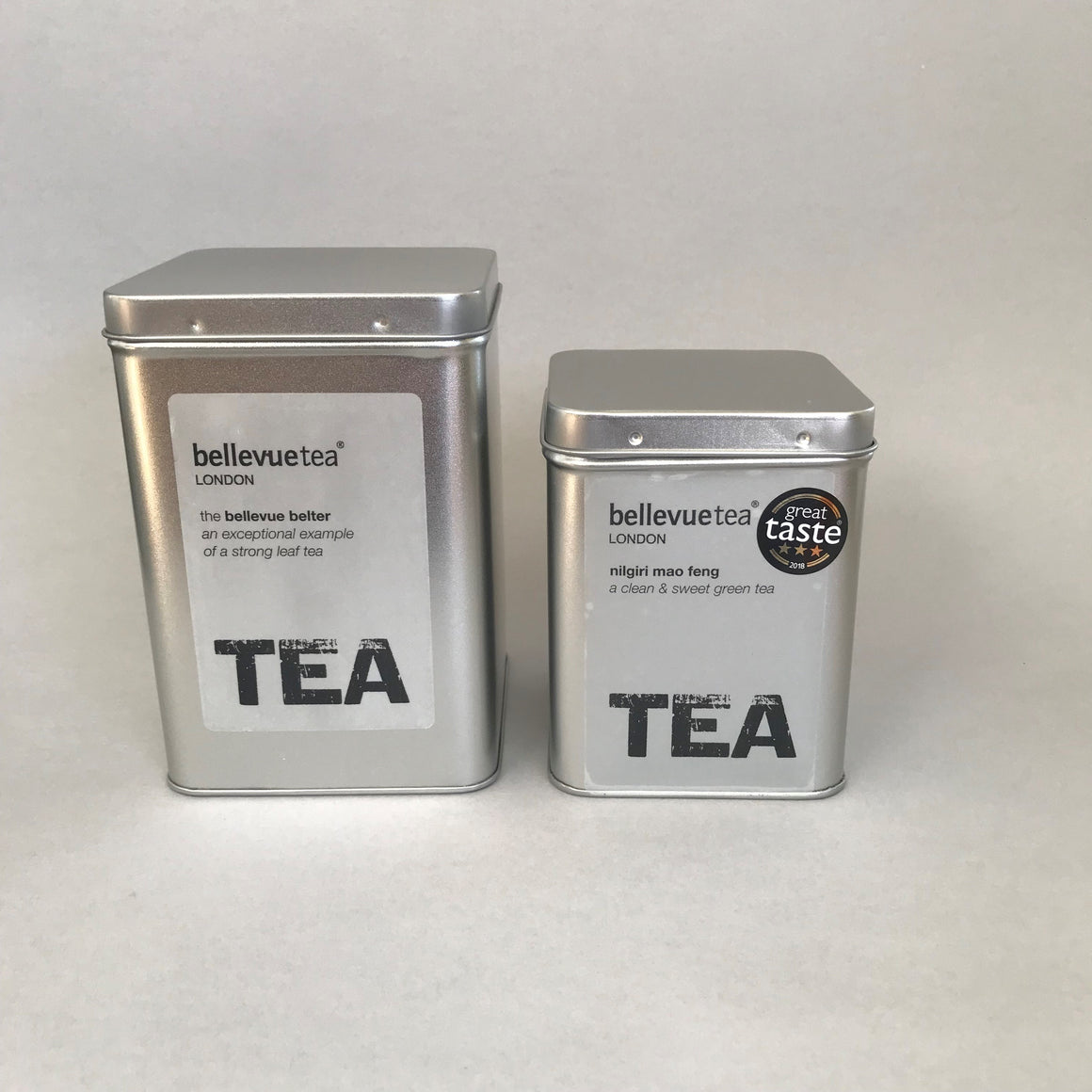 tea storage tins