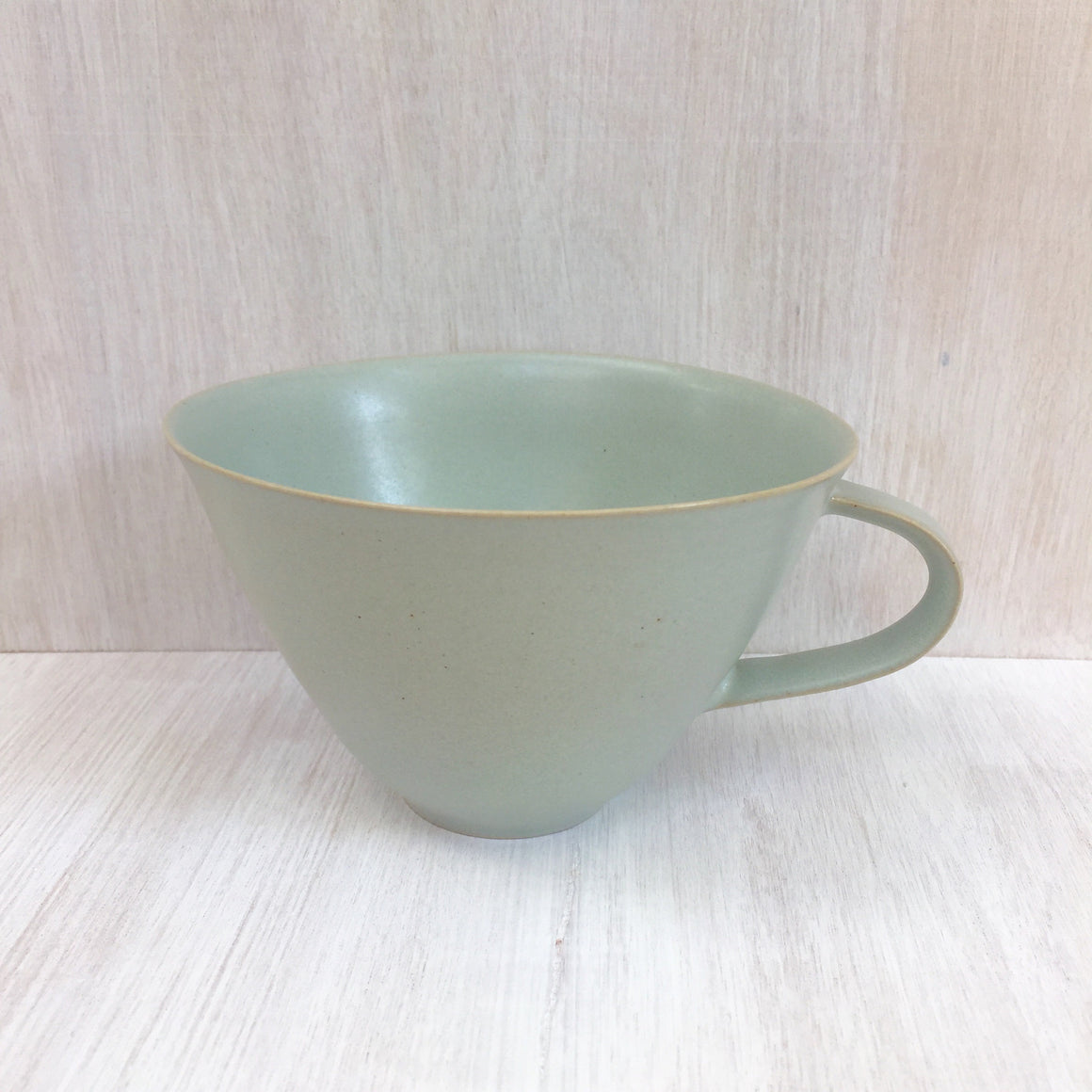 stuart carey blue tea cup