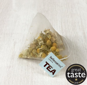 glass jar & 50 leaf tea bags of your choice packed in a pouch