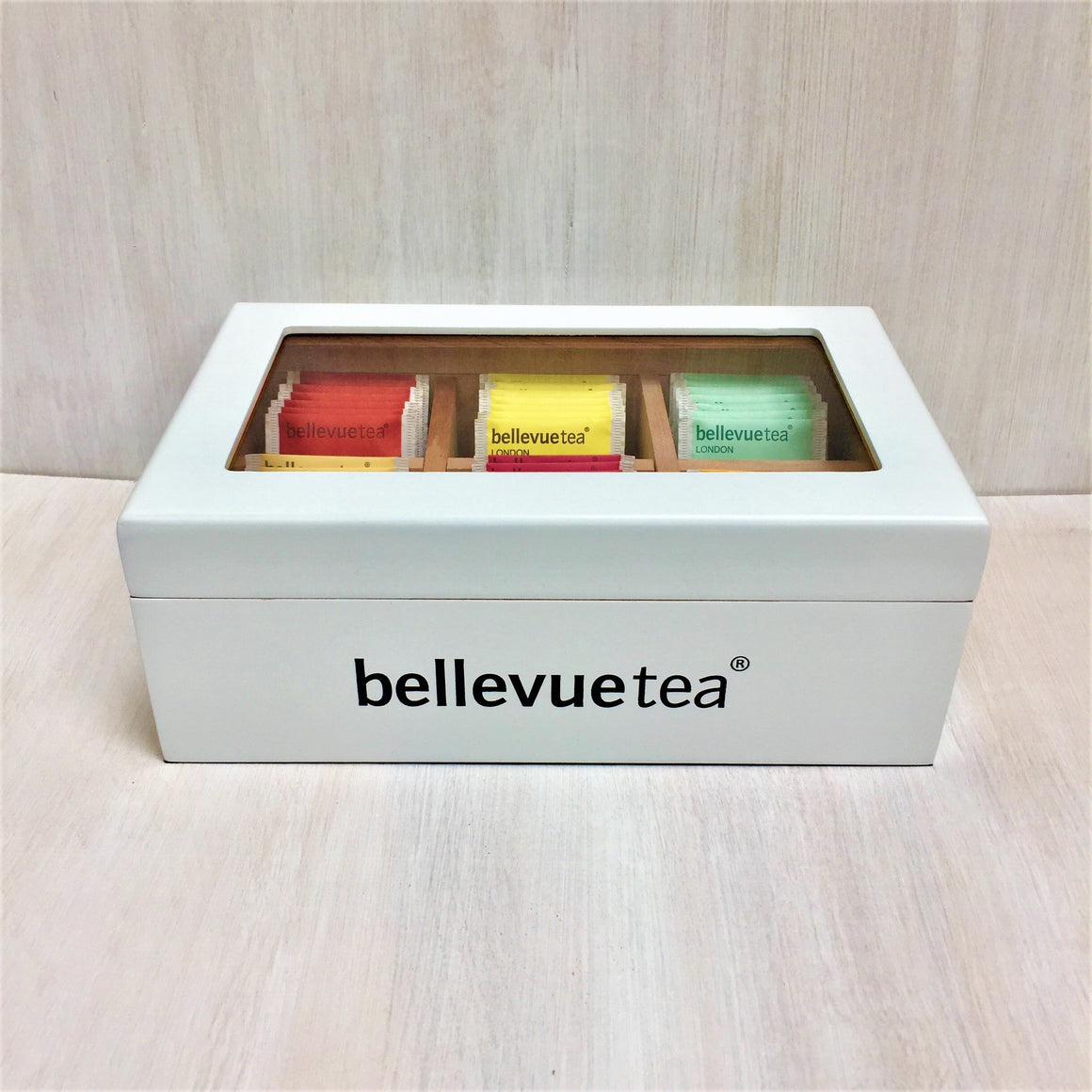 tea display box 6 compartments