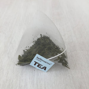 4 x 100 sencha green biodegradable leaf tea bags