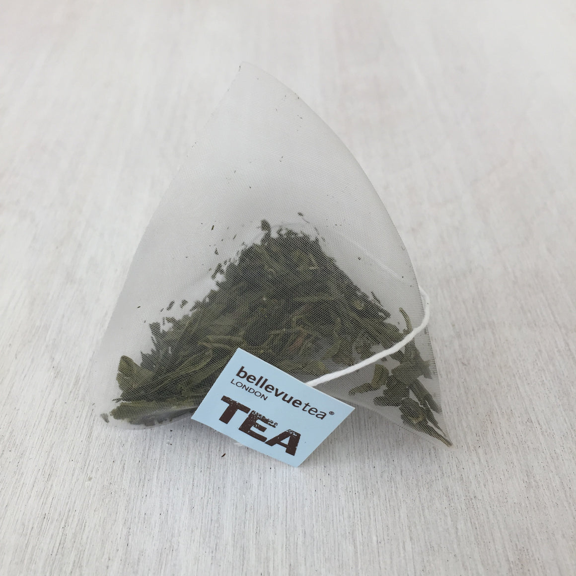 sencha green - 100 biodegradable leaf tea bags