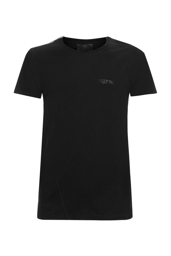 Mens Zipped T-shirt BAA11