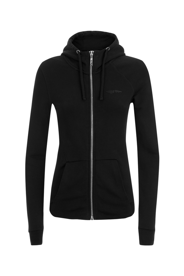 WOMENS Zip-through Hooded Sweatshirt BAA12