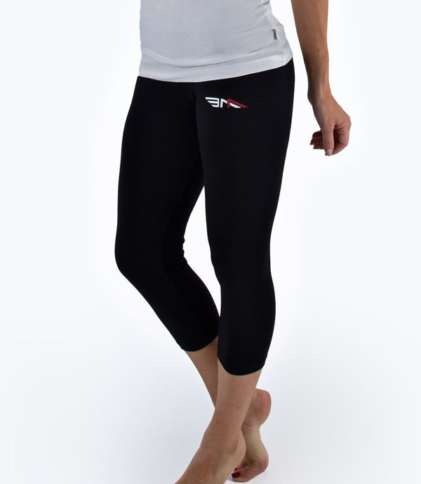 LADIES CROPPED LEGGINGS
