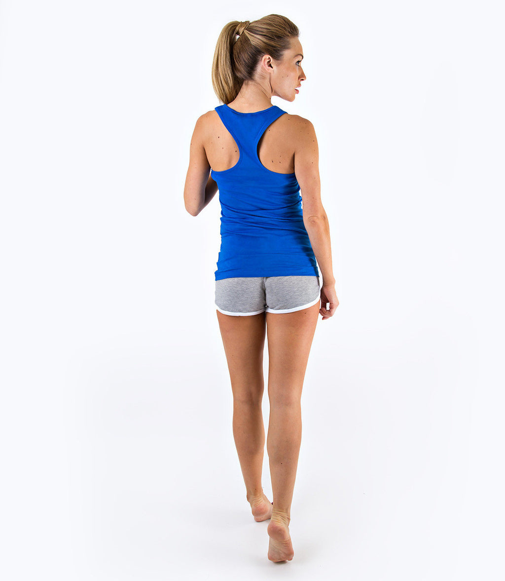 LADIES CLASSIC VEST TOP - NAVY