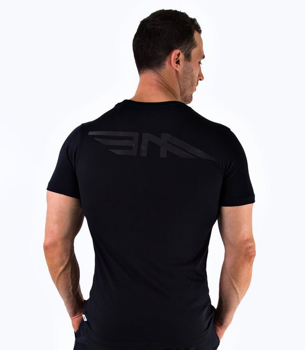 MENS PREMIUM LOGO T-SHIRT - BLACK