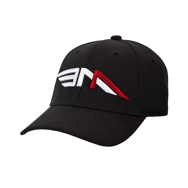 Black Fitted Baseball Cap