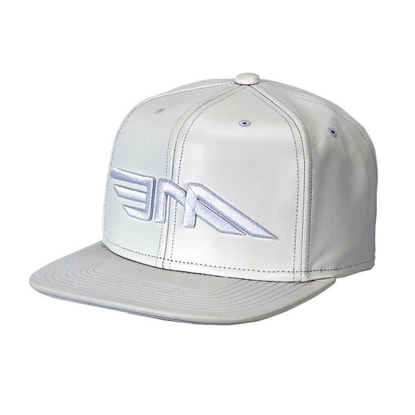 Leather Premium Cap - White