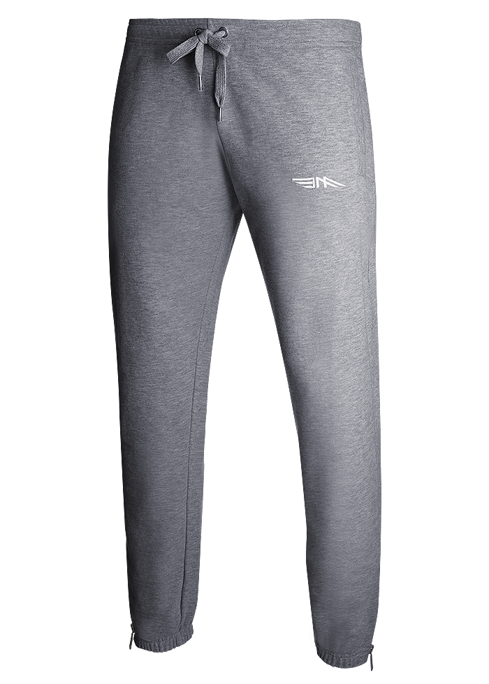 MENS CLASSIC TRACKSUIT BOTTOMS - GREY