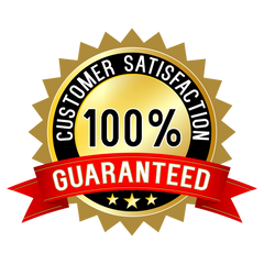 Customer Satisfaction 100% Guaranteed