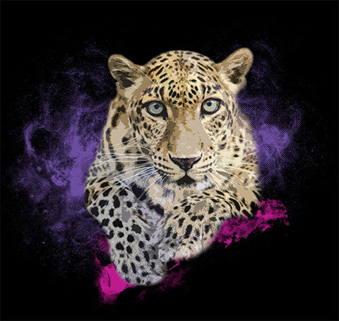 Cloudy Leopard by Tanisha Rowe