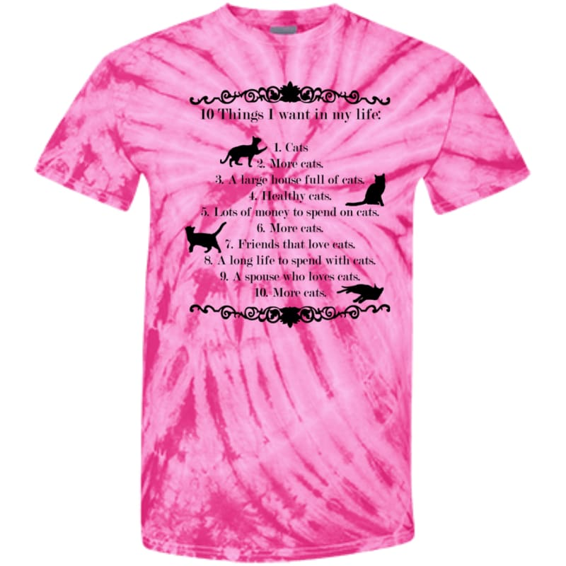 products/10-things-i-want-in-my-life-cd100y-youth-tie-dye-t-shirt-spider-pink-yxs-shirts-catrescue-clothing_937.jpg