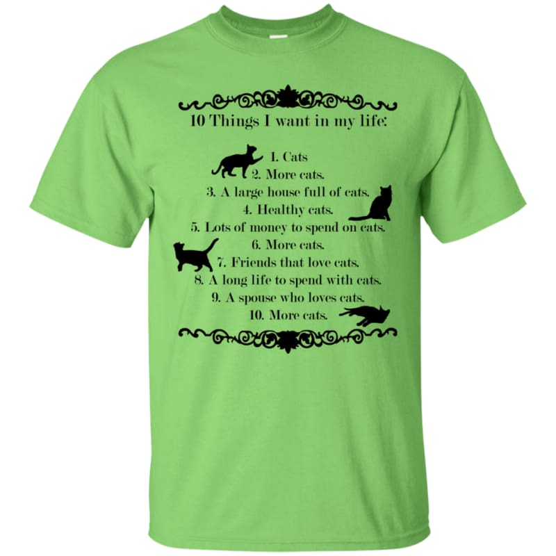 products/10-things-i-want-in-my-life-g200-gildan-ultra-cotton-t-shirt-lime-small-clothing-mens-fashion-tee-women-shirts-catrescue-green_480.jpg