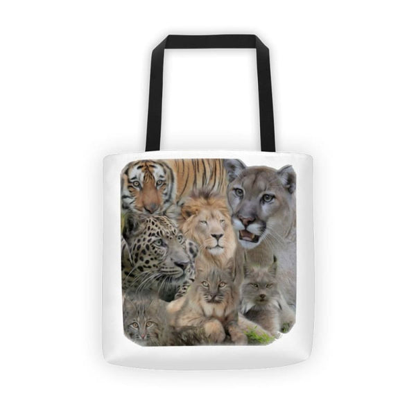 7 Cat Collage Tote Bag - Bags