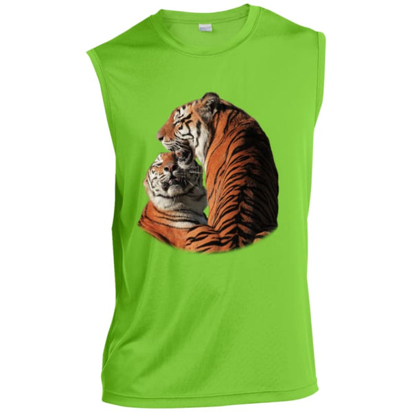 3e5d08d975eb5 Arthur and Andre Tigers Sleeveless Performance T-Shirt – catrescue