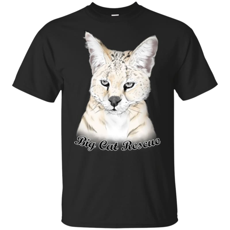2a6564b7 ... Gildan Youth Ultra Cotton T-Shirt - Black.  products/bcr-frosty-the-white-serval-color-g200b-