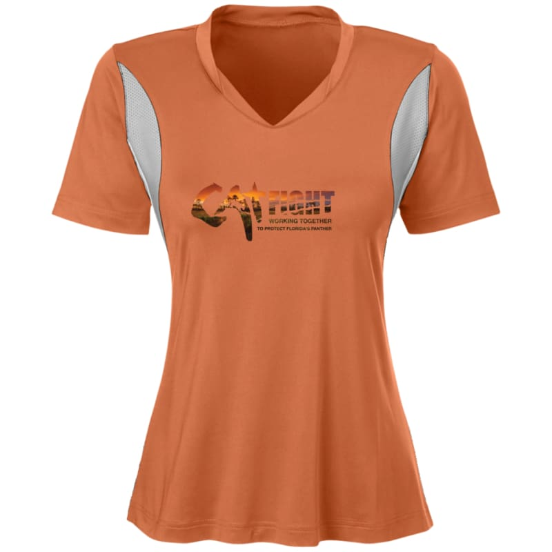 hot sale online 02b0a f6a47 Cat Fight - Protect Florida Panther TT10W Team 365 Ladies ...