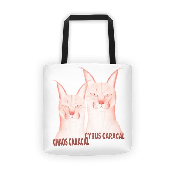 Chaos Cyrus Caracals Tote Bag - Bags