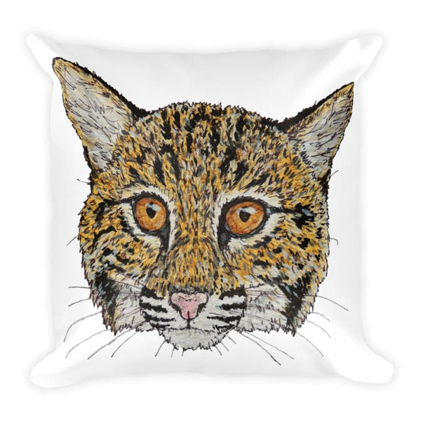 Cooper Bobcat 2 Sided Square Pillow - Pillow