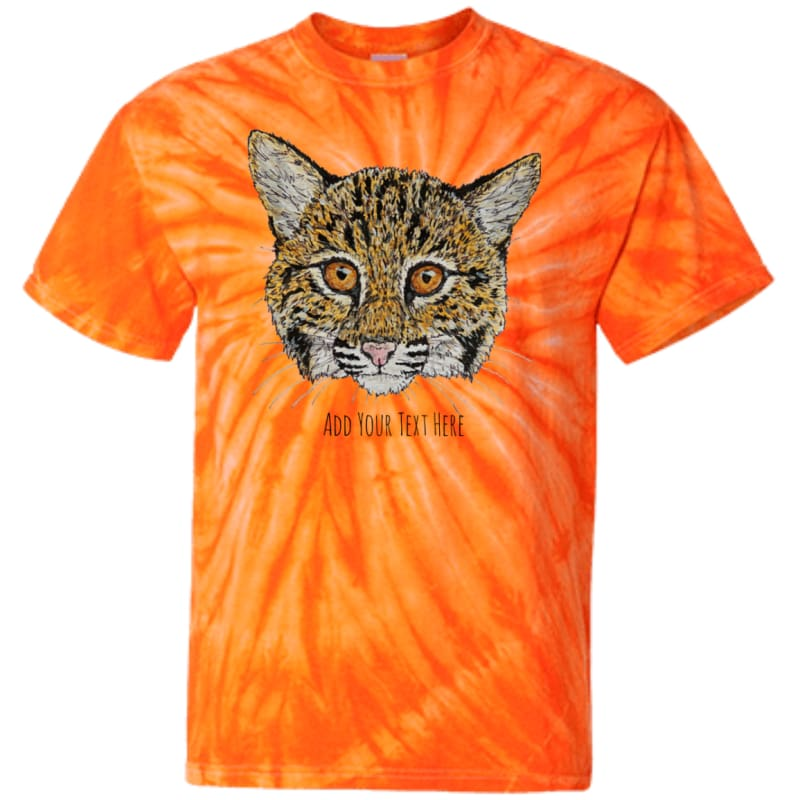 Cooper Bobcat CD100Y Youth Tie Dye T-Shirt – catrescue