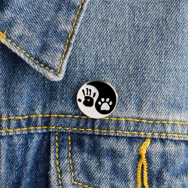 Give me five! pin palm and paw pins Cat Kitten Brooch Pins for Women and Girls - Jewelry