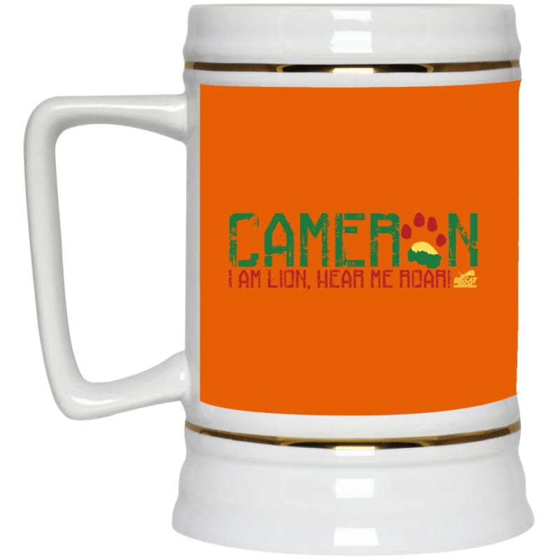 products/i-am-cameron-lion-22217-beer-stein-22oz-burnt-orange-one-size-drinkware-housewares-mug-catrescue_846.jpg