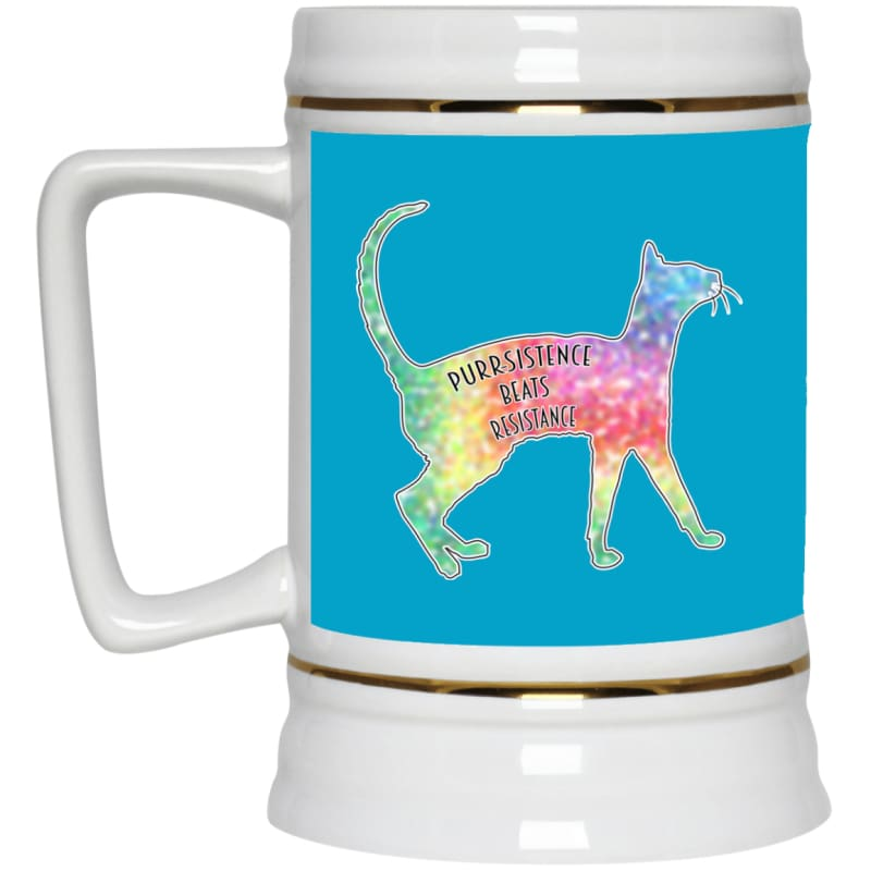 products/purr-sistance-22217-beer-stein-22oz-turquoise-one-size-drinkware-housewares-mug-catrescue_380.jpg
